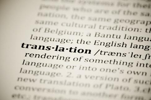 Translation / Editing