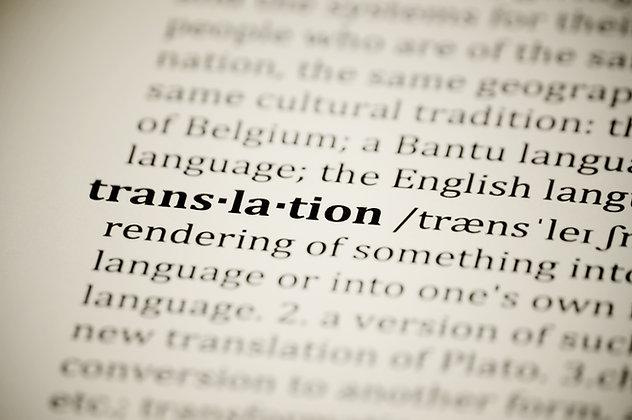 Japan Documents Certified Translation