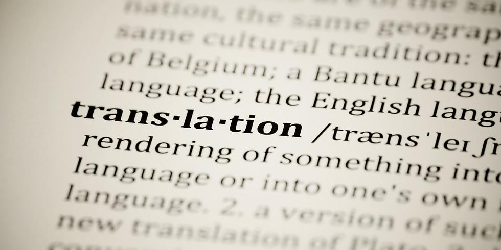 TALK | Il ruolo dei traduttori