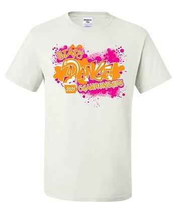 2021 ISDTA White Short-Sleeve T-Shirt