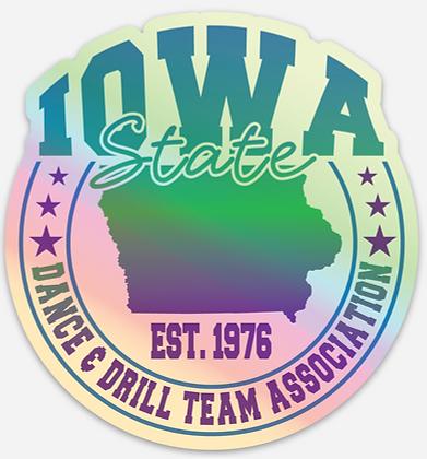 2021 ISDTA Sticker