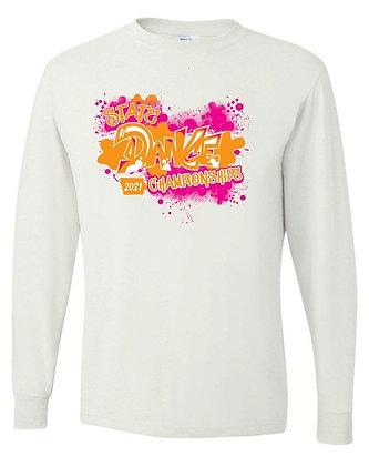 2021 ISDTA White Long-Sleeve T-Shirt