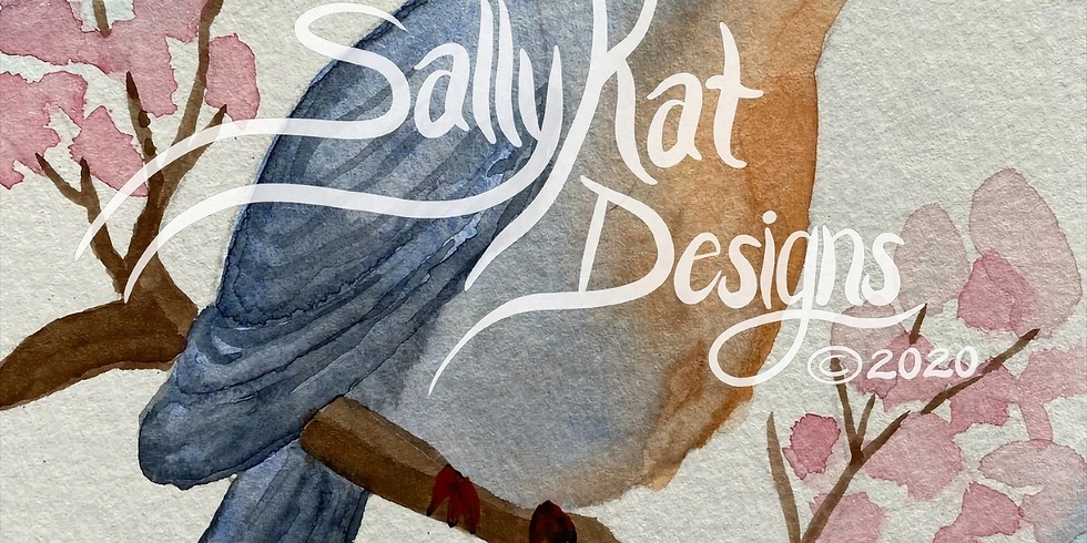 WORKSHOP: Spring Birds in Watercolor with Sally Balestrieri
