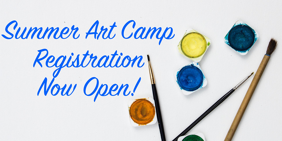 Summer Art Camp / July 20-23 / Afternoon Session / 5-12 y.o. with Jessica Hardy