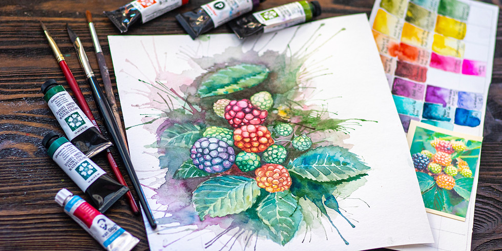 Watercolor Beginner & Intermediate w/ Sally Balestrieri