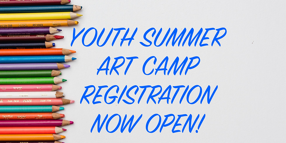 Summer Art Camp / June 22 - 25 / Morning Session / 5-12 y.o. with Heather Farris