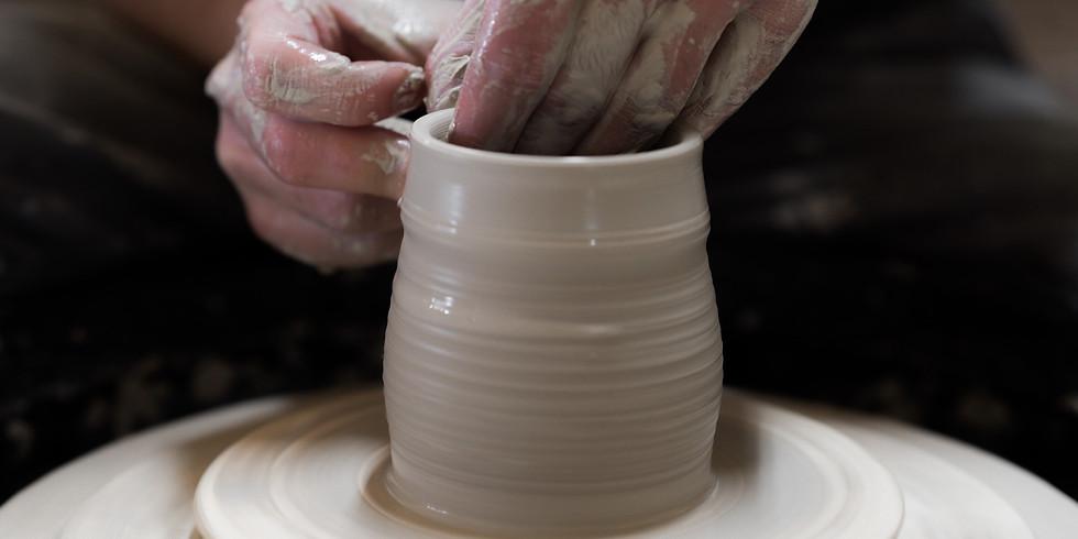 *NEW* Saturday Wheel Pottery w/ Harrison Hickman