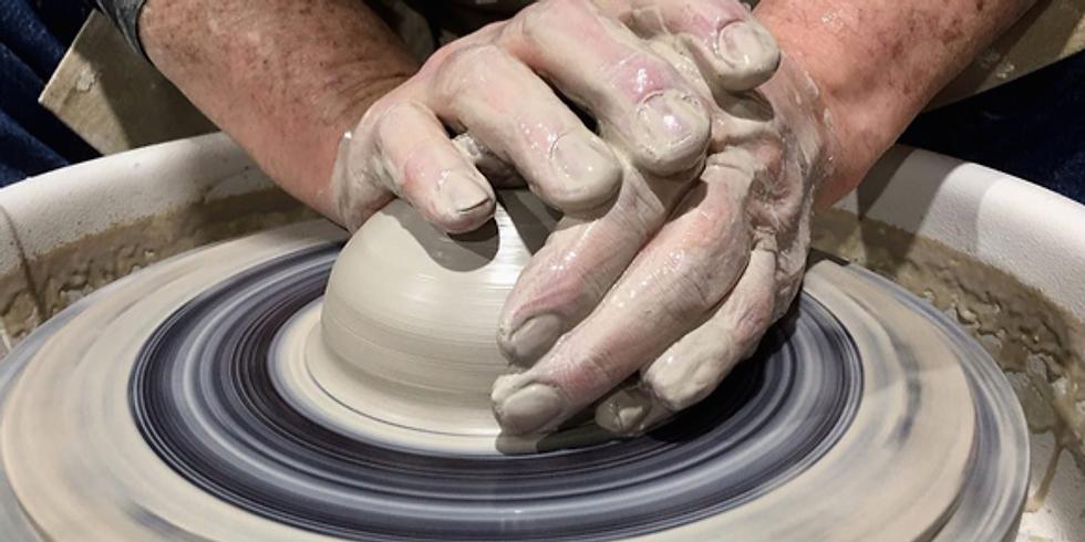 Thursday Wheel Pottery w/ Harrison Hickman