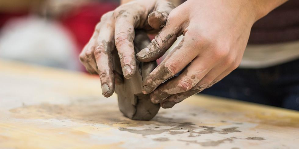Tuesday Hand Building Pottery w/ Megan Scureman
