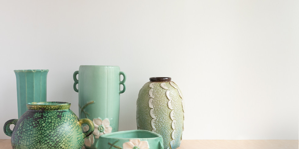 WORKSHOP: Spring Ceramic Flower Pot (Paint, Sculpt, or BOTH!) w/ Kimbo Barron 3