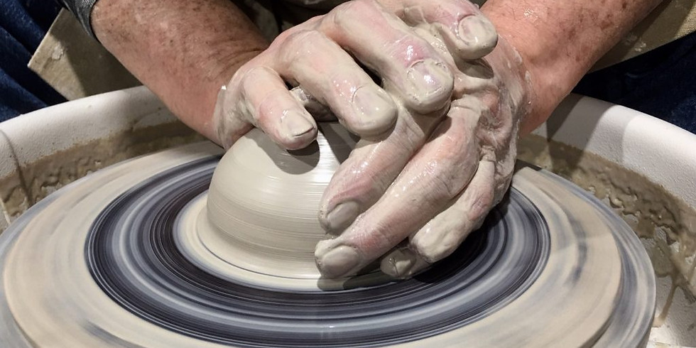 Adult / Wednesday Wheel Pottery Beginner (Mature Teens Welcome)