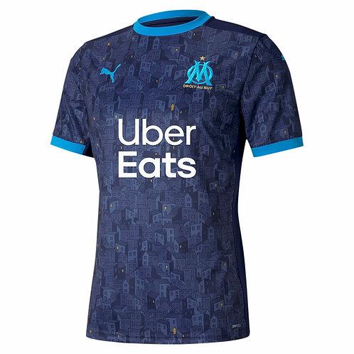 PUMA Maillot Olympique de Marseille Away 2020-2021 (757037-03)