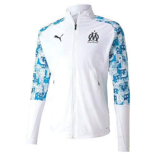 PUMA Veste Olympique de Marseille Présentation 2020-2021 (758119-11)