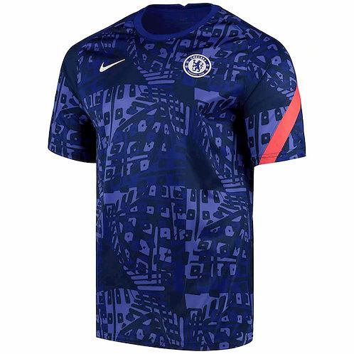 NIKE Maillot Chelsea FC PréMatch UCL 2020-2021 (CK9713-472)