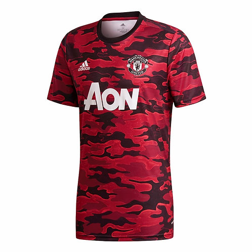ADIDAS Maillot Manchester United PréMatch UCL 2020-2021 (FR6033)