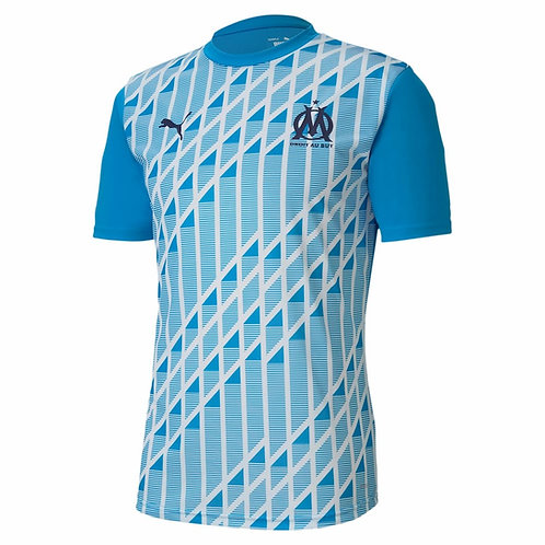 PUMA Maillot Olympique de Marseille PréMatch 2020-2021 (758119-11)