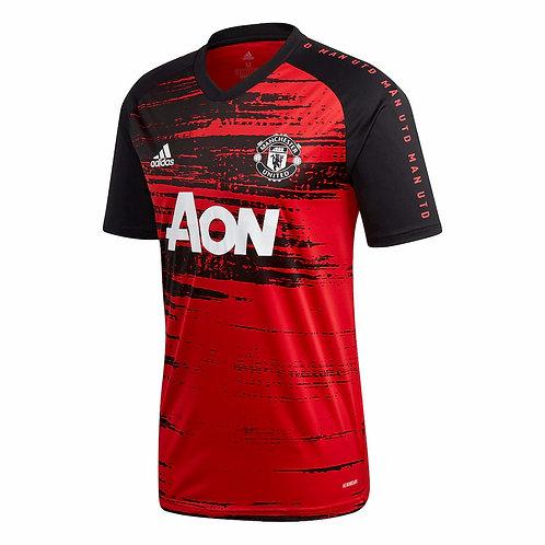 ADIDAS Maillot Manchester United PréMatch 2020-2021 (FH8551)