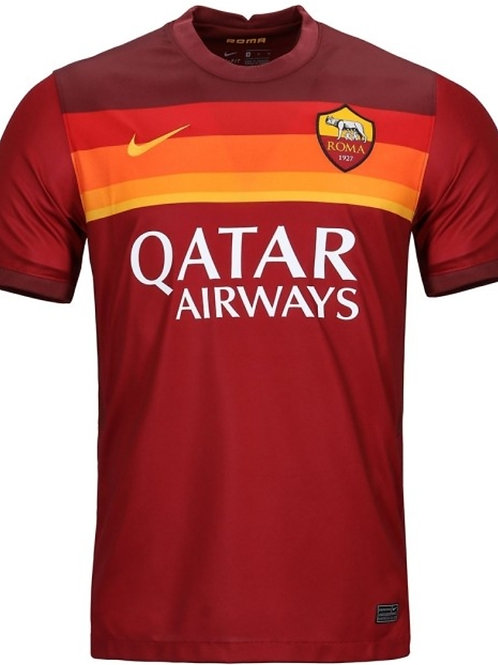 NIKE Maillot Roma AS Home 2020-2021 (CD4248-614)