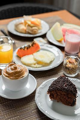 cafe da manha, Iate Hotel Florianopolis