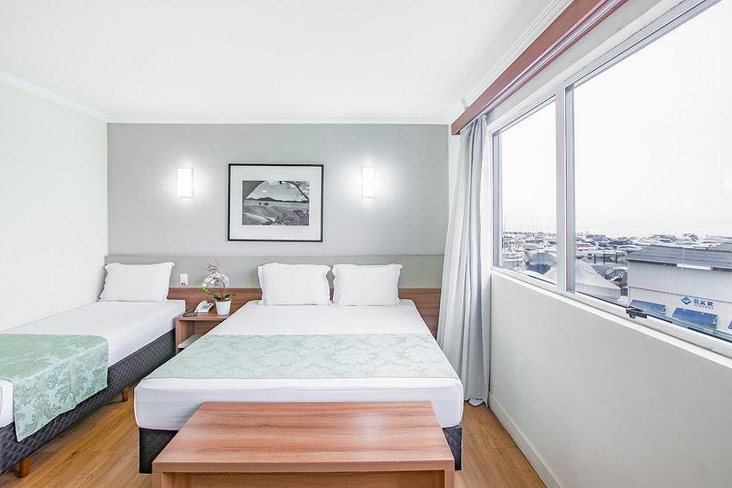 suite luxo vista mar, Iate Hotel Florian
