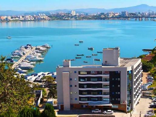 Hotel no centro de Florianópolis com muito conforto!