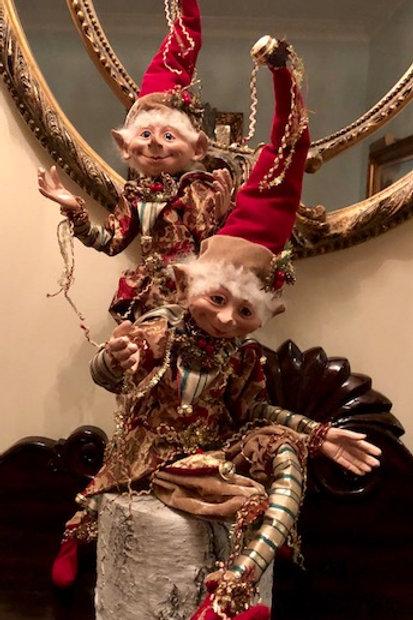 Lifelike Christmas Elf