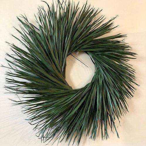 Preserved Palmetto Wreath