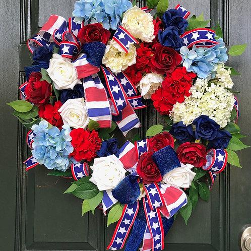 Everyday Patriotic Wreath