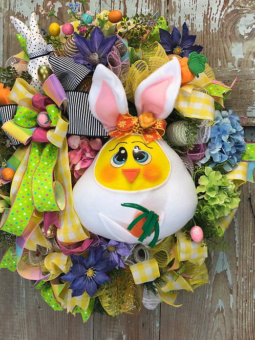 Easter Bunny and Carrots