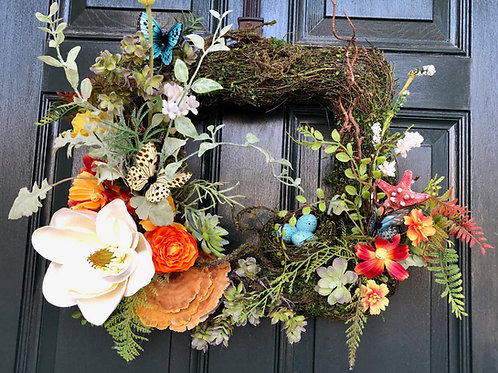 Spring Is Coming Wreath