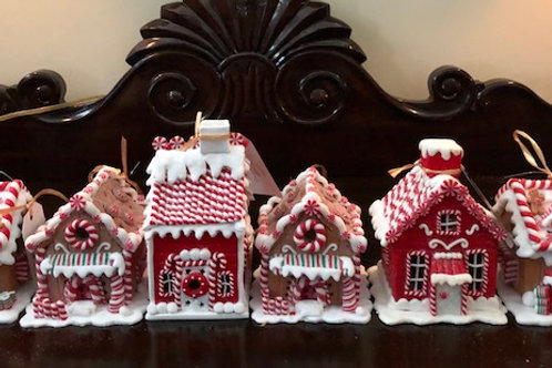 Gingerbread Christmas Village House