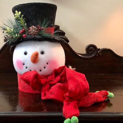 Christmas Snowman Tree Topper