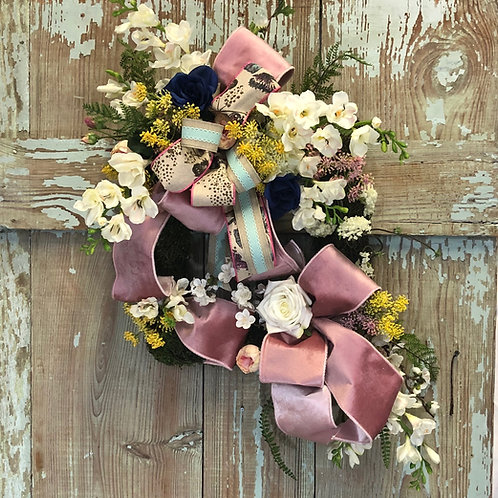 Summer Wreath - Mother's Day Werath - Wedding Wreath