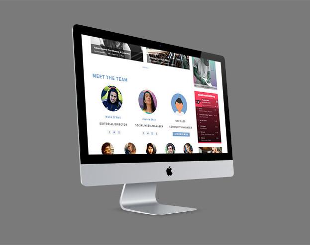 Verge Campus Website Redesign Concepts