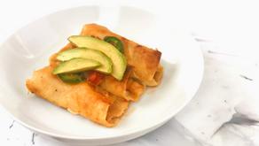 Creamy Verde Shrimp Enchiladas Recipe