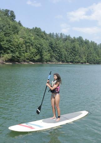 Bluue Ridge Mountain Lake