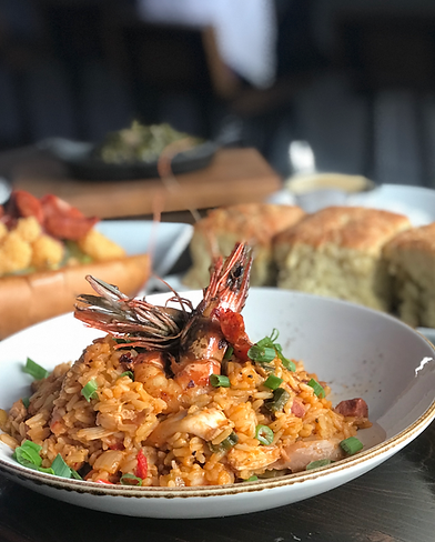 jambalaya cajun creole cuisine the attic long beach restaurant food blogger