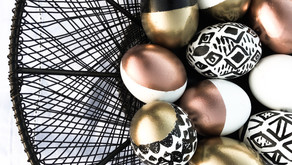 How to Make Easter Eggcent Decor.