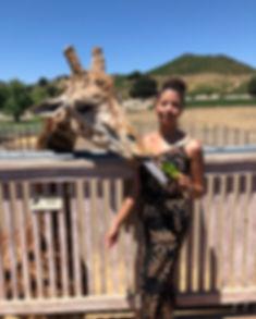 Stanley the Giraffe Malibu Wine Safari who what wear target fashion ootd