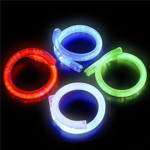 Bracelet tube DEL