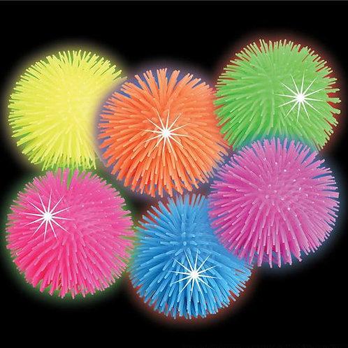 12 Balles souples lumineuses
