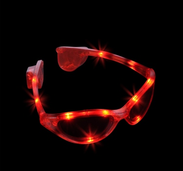 lunette lumineuse rouge