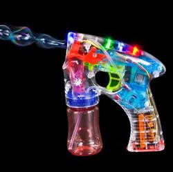 fusil lumineux à bulles