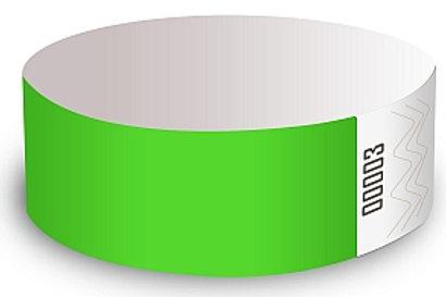 Bracelets verts (boite de 500)