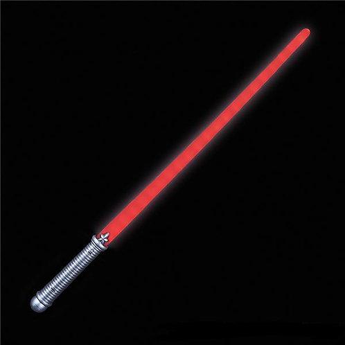 Épée laser rouge