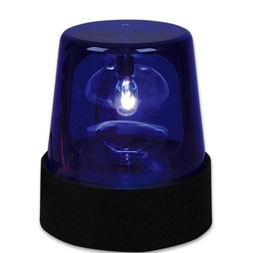 lampe police bleu