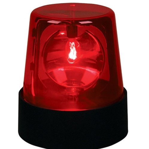 Lampe police rouge