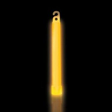25 Bâtons lumineux 6'' orange