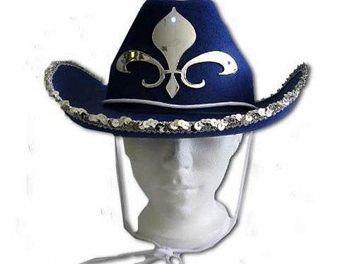 Chapeau cowboy lumineux du Québec