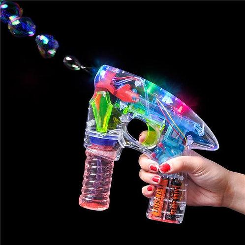 Fusil à bulles géant